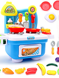 cheap -Toy Kitchen Set Toy Dishes & Tea Sets Toy Food / Play Food PVC(PolyVinyl Chloride) Kid's Boys' Girls' Toy Gift