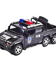 cheap -KIV Pull Back Vehicle Police car Car Toy Gift / Metal