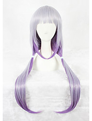 cheap -Kobayashi Maid Dragon Cosplay Wigs 32inch Long Strsight Purple Mixed Kanna Kobayashi Anime Cosplay Hair Wig