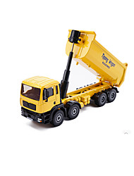 cheap -1:25 Metalic Dump Truck Toy Truck Construction Vehicle Toy Car Model Car Kid's Car Toys / Music & Light