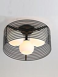 cheap -3-Light 42 cm Mini Style Flush Mount Lights Metal Glass Painted Finishes Modern Contemporary 110-120V / 220-240V / E26 / E27