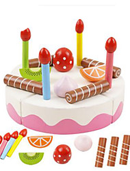 cheap -DMTC Toy Kitchen Set Pretend Play Play Kitchen Vegetables Fruit Magnetic DIY Plastic Kid's Toy Gift