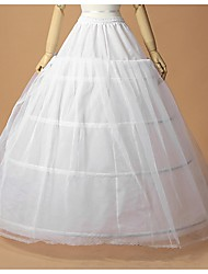 cheap -Wedding / Special Occasion Slips Polyester / Tulle Floor-length A-Line Slip / Ball Gown Slip with