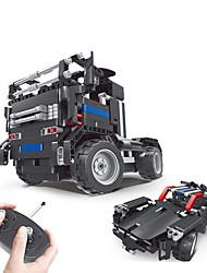 cheap -QIHUI Remote Control RC Building Block Kit Toy Car Building Blocks Construction Set Toys Educational Toy Car Remote Control / RC Boys' Girls' Toy Gift