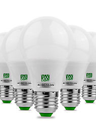 Недорогие -ywxlight® 5pcs e27 / e26 5730smd 5watts 10led теплый белый холодный белый светодиод не мерцает высокой яркостью светодиодная лампа 12v 12-24v