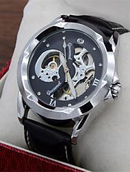 cheap -Men's Wrist Watch Quartz Leather Black Hot Sale Analog Casual Fashion - Gold / White Black / Silver White / Silver