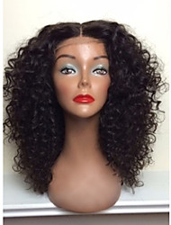 cheap -hot sale 100 brazilian human hair full lace wigs natural blank kinky curly full lace wig for woman with baby hair