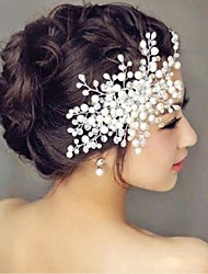 cheap -Imitation Pearl Hair Combs / Flowers with 1 Wedding / Special Occasion Headpiece