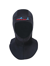 cheap -Dive&Sail Diving Wetsuit Hood 3mm Spandex Neoprene for Adults - Waterproof Breathable Swimming Diving Snorkeling / Winter / Stretchy