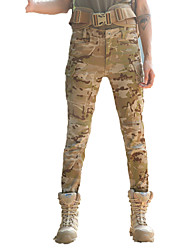 cheap -Women's Hunting Pants Outdoor Waterproof Breathable Wear Resistance Spring Fall Winter Pants / Trousers Hunting Leisure Sports Camouflage Brown