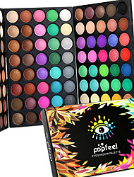 cheap -120 Colors Eyeshadow Palette Powders Matte Shimmer Eye Matte Shimmer Alcohol Free Ammonia Free Formaldehyde Free Fragrance Free Oil Free Glitter Shine Waterproof Shimmer glitter gloss Coloured gloss