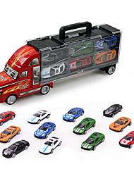 cheap -1:32 Plastic Truck Cargo Truck Toy Truck Construction Vehicle Toy Car Model Car Simulation Boys' Girls' Kid's Car Toys