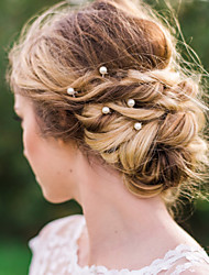 cheap -Imitation Pearl / Alloy Hair Tool / Hair Stick / Hair Pin with 1 Wedding / Special Occasion / Casual Headpiece