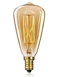 cheap -Ecolight™ 1pc Edsion Bulb 40W E14 ST48 Warm White 2300k Incandescent Vintage Edison Light Bulb 220-240V
