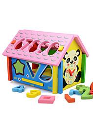 abordables -Blocs de Construction Jouet Educatif Pour cadeau Blocs de Construction Maison 2 à 4 ans 5 à 7 ans 8 à 13 ans Jouets