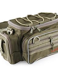 """Недорогие -Рыболовные снасти мешок Коробка для рыболовной снасти Водонепроницаемый 2 Поддоны Полиэстер 30 cm*6,69""""(около 17см)*18 cm"""