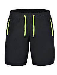 cheap -Women's Running Shorts Workout Shorts Athletic Shorts Sports Shorts Bottoms Running Exercise & Fitness Leisure Sports Quick Dry Ultra Light Fabric Black / Orange Black / Green