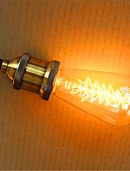 cheap -1pc 40W E26 / E27 ST64 2300k Incandescent Vintage Edison Light Bulb 220V 220-240V