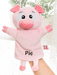 cheap -Finger Puppets Puppets Paternity Games Hand Puppet Cute Animals Lovely Plush Children's
