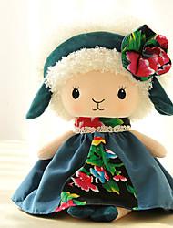 Недорогие -Овечья шерсть Кукла для девочек Милый стиль Мальчики Девочки Идеальный подарок для малышей и малышей