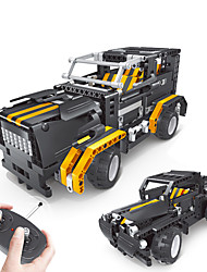 cheap -Remote Control RC Building Block Kit Toy Car Building Blocks Construction Set Toys Educational Toy Car Remote Control / RC Boys' Girls' Toy Gift