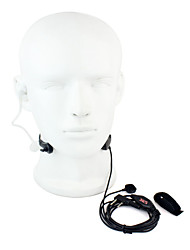 cheap -Throat MIC PTT Headset Walkie Talkie Covert Acoustic Tube for Baofeng 365 Wanhua TYT HYT