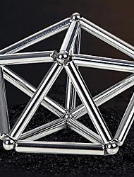 Недорогие -63 pcs 8mm Магнитные игрушки Магнитные шарики Магнитные палочки Конструкторы Сильные магниты из редкоземельных металлов Неодимовый магнит Детские / Взрослые Мальчики Девочки Игрушки Подарок