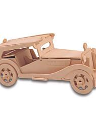 cheap -Building Blocks 3D Puzzles Jigsaw Puzzle Wooden Puzzles Educational Toy Car DIY 1pcs Kid's Men's Women's Couple's Girls' Boys' Unisex Gift