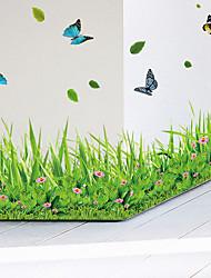 cheap -Decorative Wall Stickers - Plane Wall Stickers Animals / Fashion / Botanical Living Room / Bedroom / Bathroom