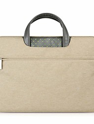 cheap -15.6 Inch Laptop Briefcase Handbags Textile Solid Color for Business Office for Colleages & Schools for Travel Water Proof Shock Proof