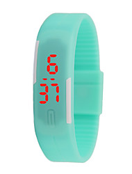 cheap -Women's Men's Unisex Fashion Watch Digital Plastic Band Casual Blue Green