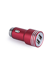 cheap -Car Charger USB Charger Universal Fast Charge 2 USB Ports 3.1 A DC 12V-24V for