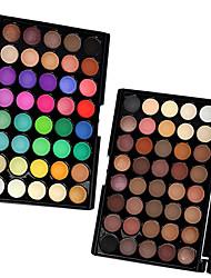 cheap -Eyeshadow Palette Dry Matte Shimmer Alcohol Free Ammonia Free Formaldehyde Free Long Lasting Breathability Fashion Comfortable