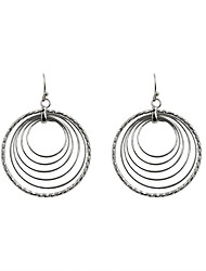 cheap -Women's Drop Earrings Hoop Earrings Fashion Euramerican Earrings Jewelry Gold / Silver For Wedding Party Daily Casual Sports