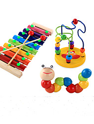 cheap -Xylophone Building Blocks Music Box Educational Toy Musical Instruments Fun Boys' Girls' Toy Gift / Wood