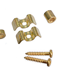 cheap -10 Sets Golden Electric Guitar String Retainers tree for Strat Tele Guitar Free Shipping
