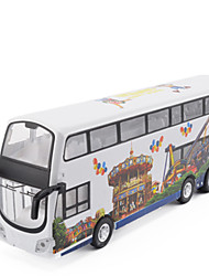 cheap -Toy Car Holiday Double-decker Bus Seascape Bus Simulation Music & Light Mini Car Vehicles Toys for Party Favor or Kids Birthday Gift / Kid's