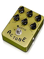 cheap -JOYO JF-13 AC Tone Vox Amp Simulator Guitar Effect Pedal Guitarra Parts True Bypass for Musical Instrument