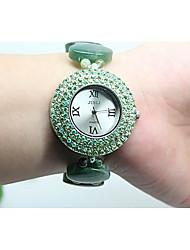 cheap -Women's Fashion Watch Quartz Analog Green / Jade