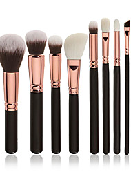 cheap -Professional Makeup Brushes Makeup Brush Set 8pcs Professional Full Coverage Synthetic Hair Wood Makeup Brushes for Blush Brush Foundation Brush Eyeshadow Brush Concealer Brush Contour Brush Makeup
