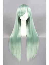 cheap -Synthetic Wig Cosplay Wig Straight Straight Wig Long Green Synthetic Hair Women's Green