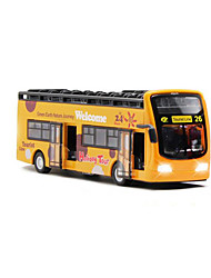 cheap -1:50 Toy Car Bus Construction Truck Set Simulation Music & Light Pull Back Vehicles Metal Alloy Plastic Mini Car Vehicles Toys for Party Favor or Kids Birthday Gift 1 pcs / Kid's