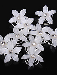 cheap -Resin Headwear / Hair Clip / Hair Tool with Floral 1pc Wedding / Special Occasion / Casual Headpiece / Hair Pin