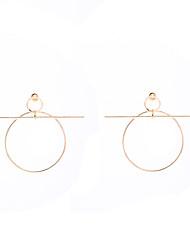 cheap -Women's Hoop Earrings Pendant Dangle Earrings Statement Dangling Vintage European Fashion Euramerican Earrings Jewelry Gold / Silvery For Party Daily Casual