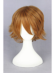 cheap -Synthetic Wig Cosplay Wig Straight Straight Wig Blonde Short Blonde Synthetic Hair Women's Blonde