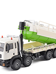 cheap -1:50 Metalic Garbage Recycling Truck Toy Truck Construction Vehicle Toy Car Pull Back Vehicle Excavating Machinery Unisex Boys' Girls' Kid's Car Toys / 14 years+