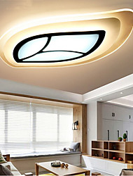 cheap -40 cm Dimmable / LED / Dimmable With Remote Control Flush Mount Lights Acrylic Acrylic Others Modern Contemporary 220-240V
