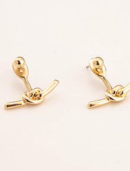 cheap -Women's Dangle Earrings Personalized Unique Design Fashion Euramerican Earrings Jewelry Gold / Silvery For Daily Casual