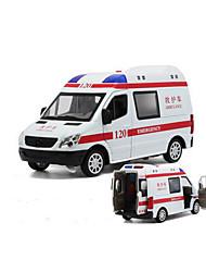 cheap -MZ Toy Car Model Car Police car Ambulance Vehicle Car Simulation Music & Light Boys' Toy Gift