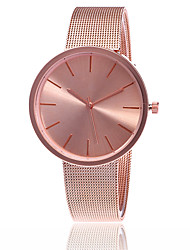 cheap -Women's Wrist Watch Gold Watch Japanese Quartz Silver / Rose Gold Hot Sale Analog Charm Classic Casual Fashion Elegant - Silver Rose Gold One Year Battery Life / SSUO LR626